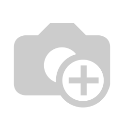 Sterling Silver 925 Ring Rhodium Plated Embedded With Sapphire CorundumAnd White CZ