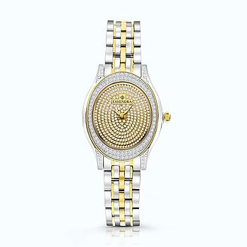 Stainless Steel 316L Watch Rhodium And Gold Plated, WCZ Dial