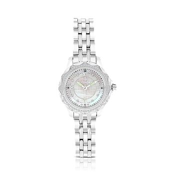 Stainless Steel 316L Watch Rhodium Plated, MOP Dial ,For Women88